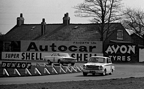 1964 Clark leads Sir Gawaine Bailie's Galaxie,in Cortina BTW417B,1964.jpg
