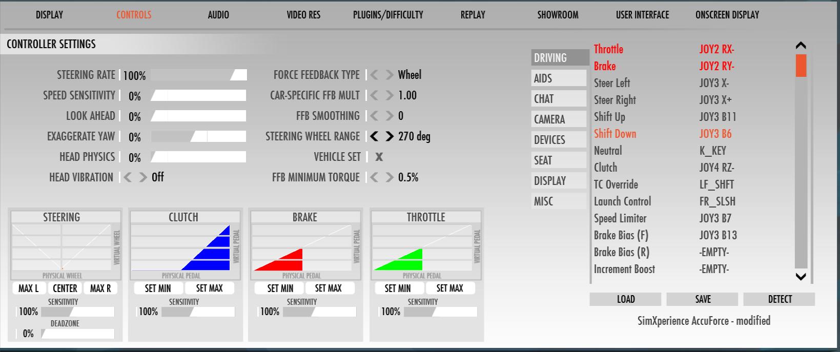 AccuForce/SimCommander settings for rF2 | Studio-397 Forum