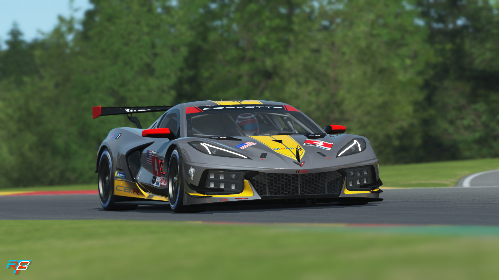 rFactor 2: SigniGTE updates for January 2021