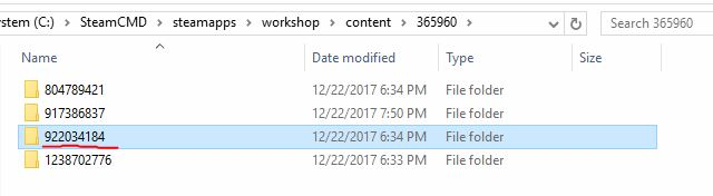 HOW TO: Getting content from the Workshop on my dedicated server